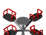 Crossed Arms Roundabout - 4 Seats